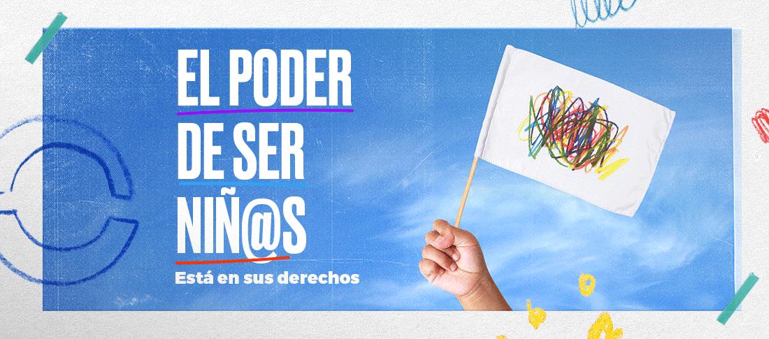 """""""El poder de ser niñ@s"""": la campaña de Open Plaza con el apoyo de UNICEF que busca visibilizar los derechos de los niños y niñas"""