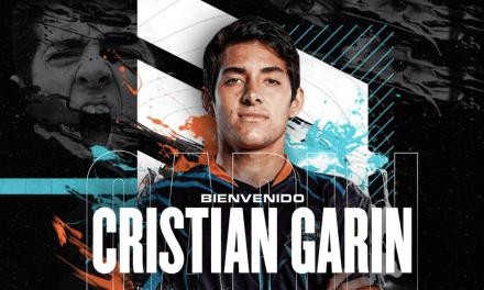 El destacado tenista chileno Cristian Garín apuesta por los esports e ingresa como socio a All Knights