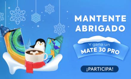 """AppGallery lanza promoción """"Mantente abrigado"""" con la que podrás ganar un HUAWEI Mate 30 Pro y otros increíbles productos"""