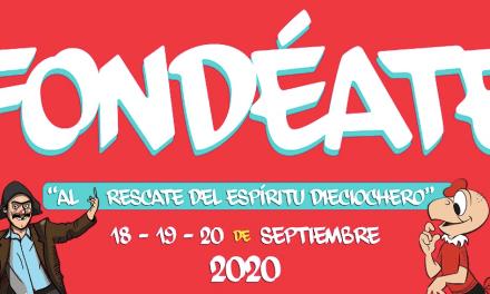 """36 artistas estarán presentes en """"FONDEATE""""¡La Fonda más Grande de Chile! """"Al rescate del espíritu dieciochero"""""""
