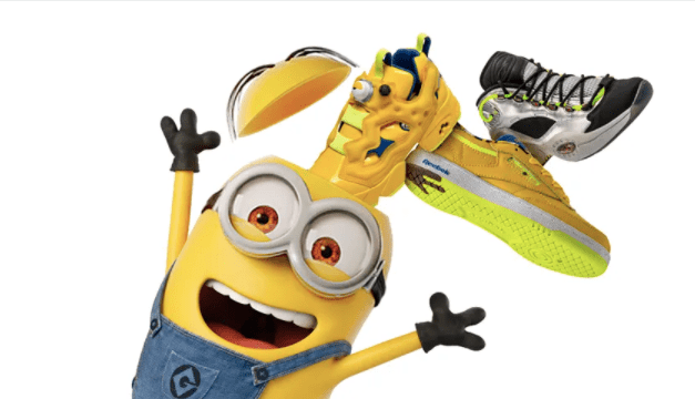 "Ya está disponible en Chile la colección ""Minions: The Rise of Gru"" de Reebok"