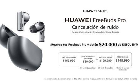 Este jueves llegan a Chile, los nuevos audífonos  HUAWEI FreeBuds Pro