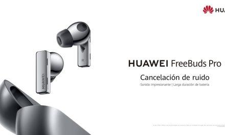Huawei anuncia próxima llegada de los FreeBuds Pro, primeros audífonos con cancelación de ruido dinámica e inteligente