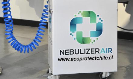 Chilenos crean máquina sanitizante de ambientes y personas, transportable y ecológica