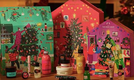 The Body Shop: La magia de la navidad es estar juntos.