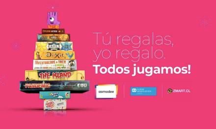 Asmodee Chile impulsa campaña de Navidad junto a Aldeas Infantiles SOS Chile