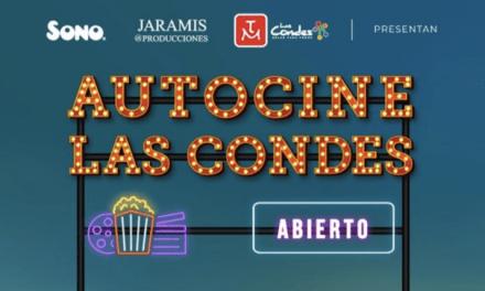 AUTOCINE LAS CONDES ABRIRÁ DE MIÉRCOLES A VIERNES.