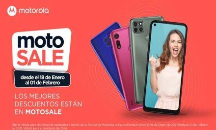 ¡Año nuevo, smartphone nuevo!  Motorola lanza una nueva edición de motosale en Chile