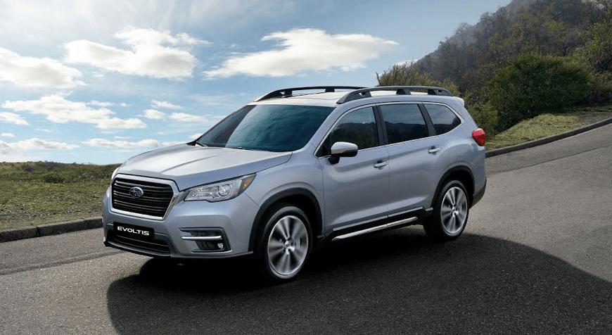 """Subaru Evoltis, """"Mejor SUV Grande"""" del año en Chile"""
