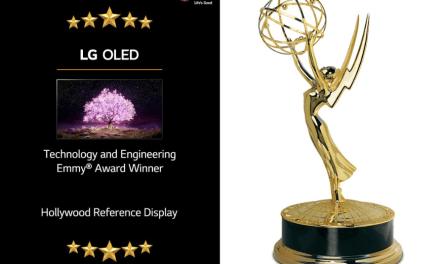 LG OLED TV premiado en los 72°  Premios Emmy® de Tecnología e Ingeniería