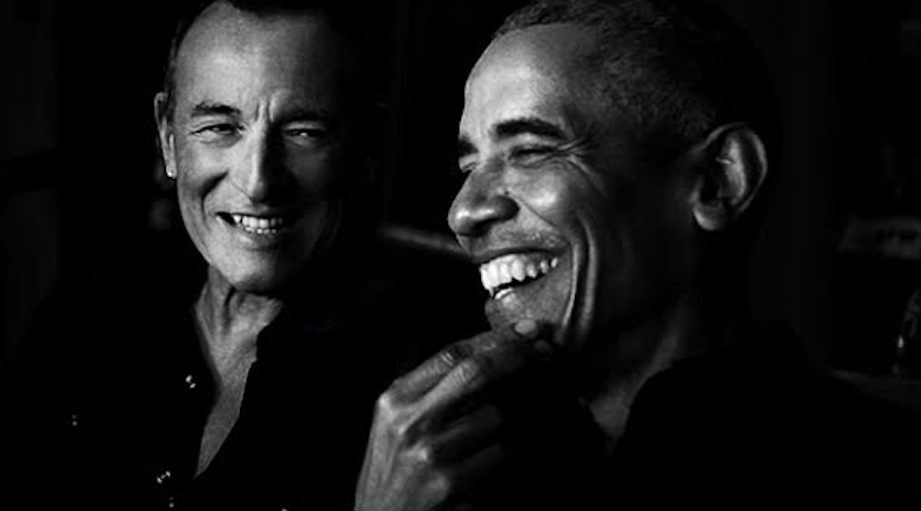 BARACK OBAMA Y BRUCE SPRINGSTEEN UNEN FUERZAS EN EL NUEVO PODCAST «RENEGADES: BORN IN THE USA»