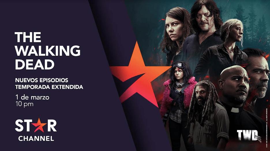 """LA DÉCIMA TEMPORADA DE """"THE WALKING DEAD"""" REGRESA A STAR CHANNEL CON SEIS NUEVOS EPISODIOS"""