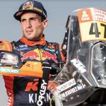 El argentino Kevin Benavides, campeón del Rally Dakar 2021, se unió a Red Bull KTM Factory Racing