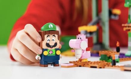 LUIGI SE UNE A SU HERMANO MARIO EN EL NUEVO PACK INICIAL AVENTURAS CON LUIGI™ DE LEGO SUPER MARIO™