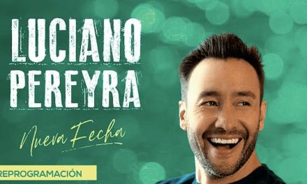 Luciano Pereyra Reprograma su concierto en Chile