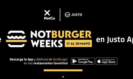 Las NotBurger Weeks te invitan a reducir el impacto en el planeta, mientras disfrutas de tu NotBurger favorita