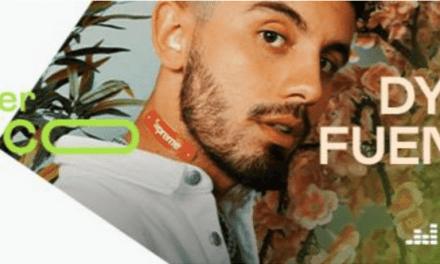 Dylan Fuentes es elegido para el programa de talentos emergentes 'Deezer Fresco'