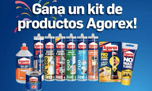 ¡Concurso! Repara y decora tu hogar con este espectacular kit de productos Agorex