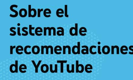 YouTube: Cómo funciona el sistema de recomendaciones