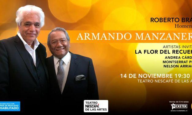 Emoción asegurada: Roberto Bravo rendirá gran homenaje a Armando Manzanero