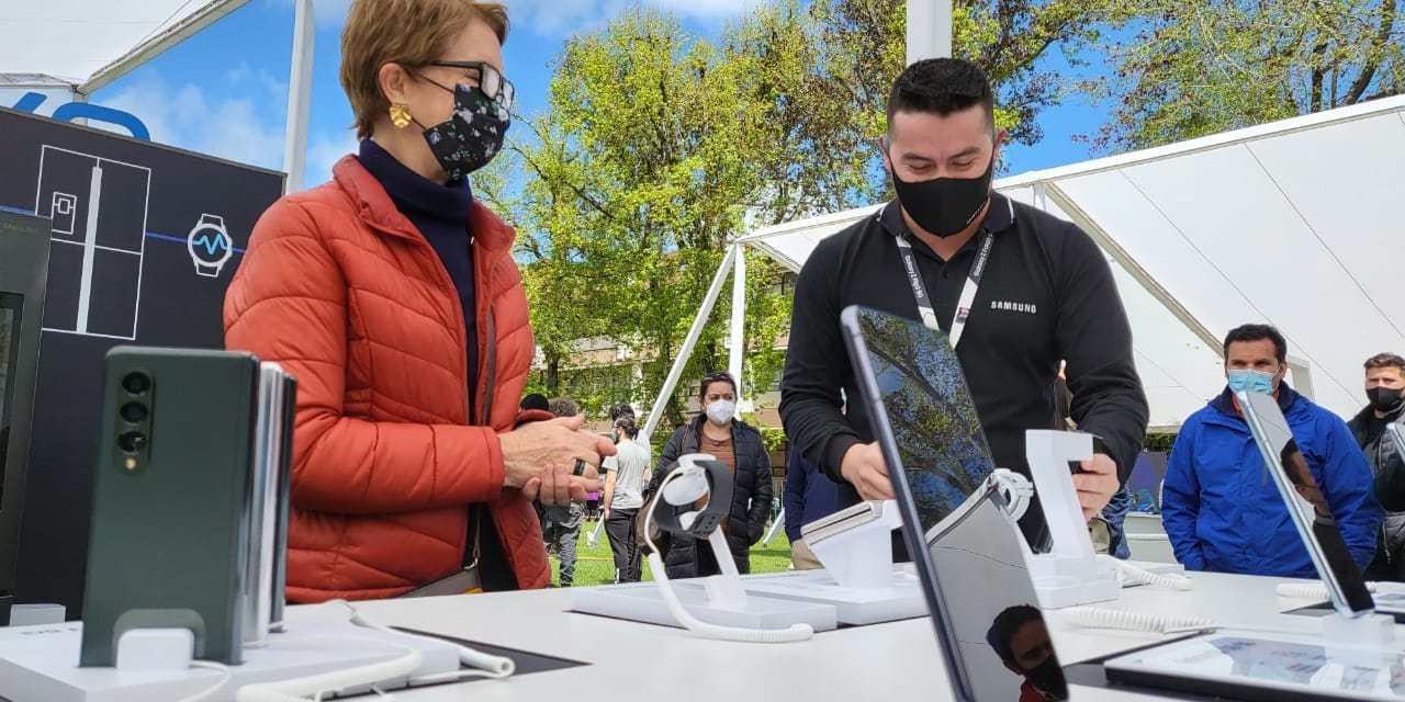 Samsung fue parte de la experiencia que iluminó con 5G los Campus de la Universidad de Concepción
