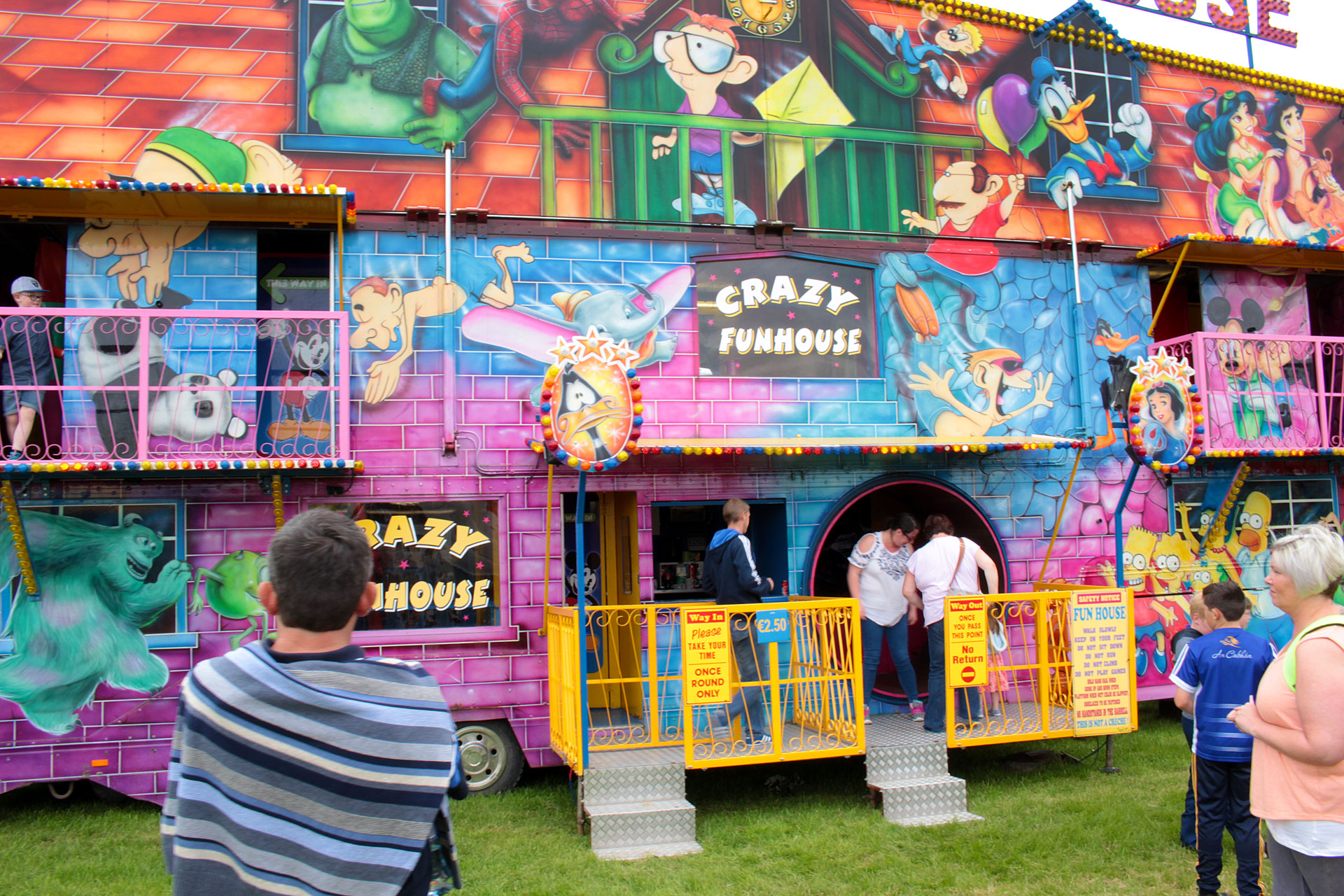 The Crazy House @ The Ossory Show 2017