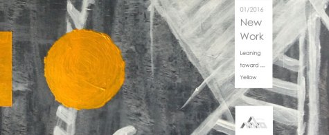 Leaning toward ... Yellow, Martin Lukas Ostachowski, Acrylic on mixed layered paper