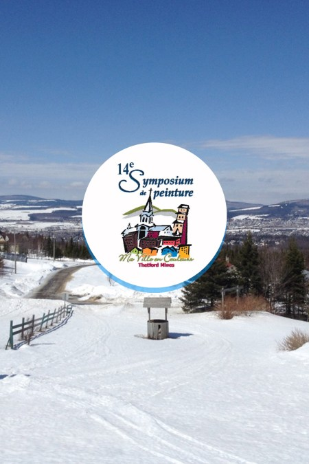 Save the date 14th Symposium de Peinture in Thetford Mines