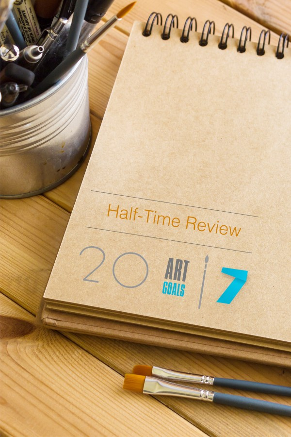 Late Half-Time Review Art Goals 2017