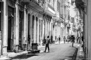 In the streets of La Habana