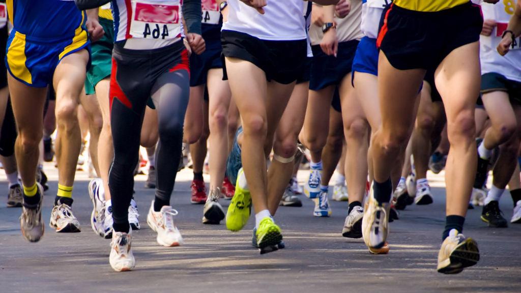 Marató de Barcelona. Promoció de massatge de descàrrega.