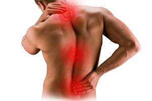 Сдавливание в грудном отделе позвоночника