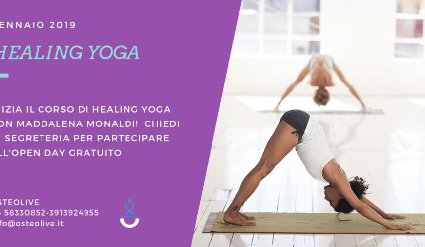 Healing Yoga ad Osteolive