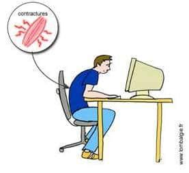 posture ordinateur douleur ostéopathie julien moreno ostéopathe