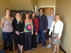 Some of the participants of the 2014 AGM in Edmonton