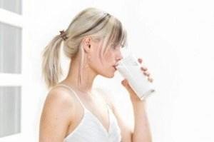 melk opgeblazen gevoel