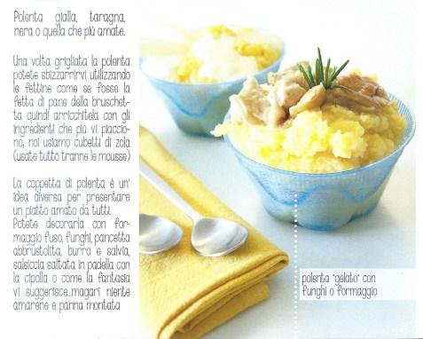 polenta gialla, taragna, nera