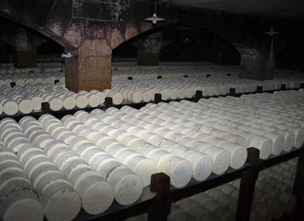 Roquefort i grotten