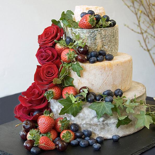 Hannah bryllupskage fra The Fine Cheese co