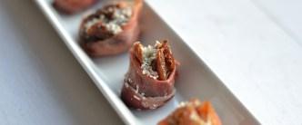 Bagt figen med parmesan