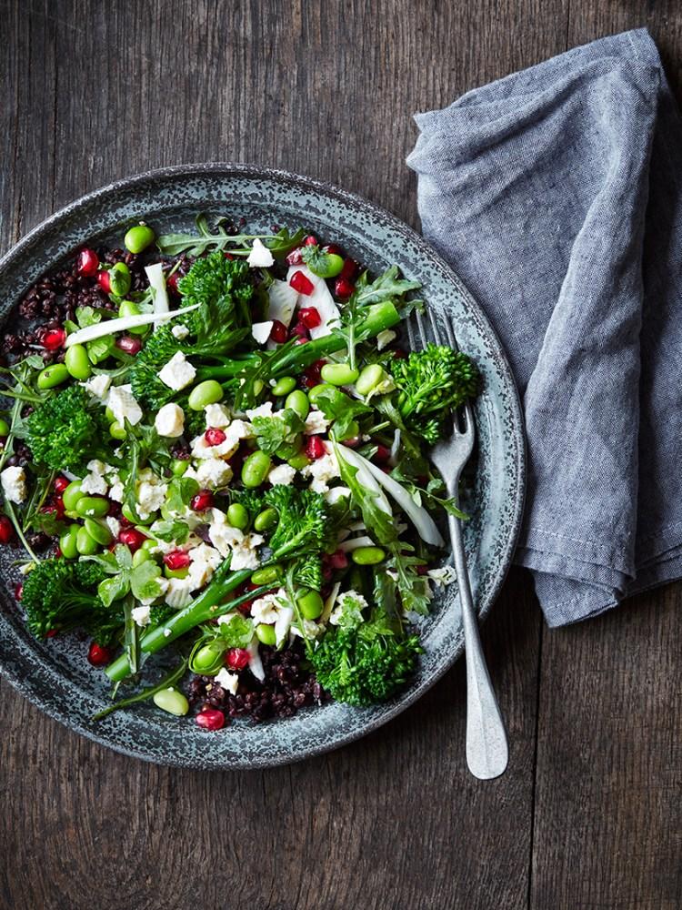Salat med salatost
