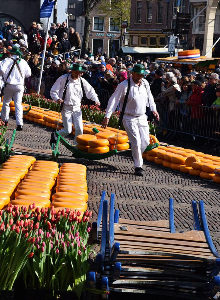 Ostemarked i Alkmaar