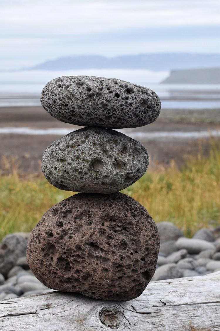 Lava sten