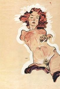 Nudo Femminile, Egon Schiele