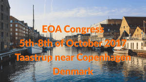 EOA Congress Dates and Place