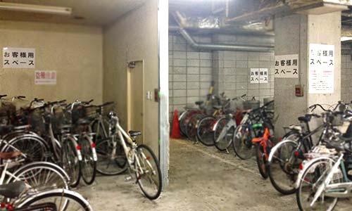 駐輪場の画像