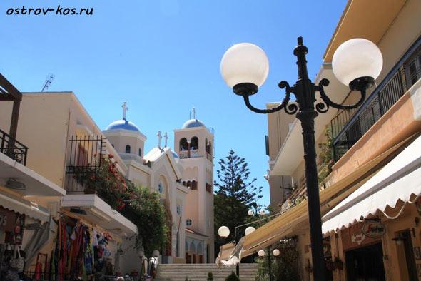 Достопримечательности города Кос фото