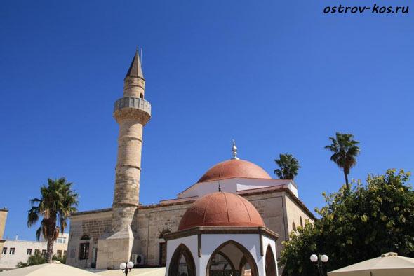 Мечеть Кос фото