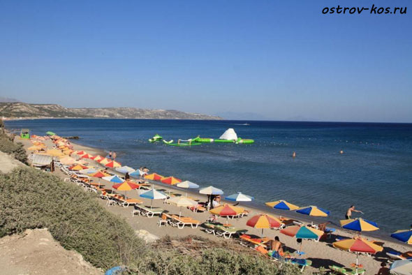 пляжи острова Кос фото