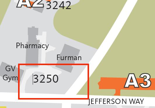 Lot #3250 area map